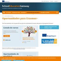 Oportunidades Erasmus+
