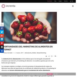 Oportunidades del marketing de alimentos en internet