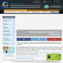 Guía del Opositor de Educación: maestros y profesores