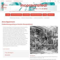 Anna Oppermann - œuvres présentées