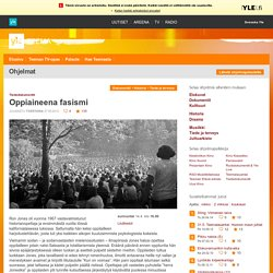 Oppiaineena fasismi