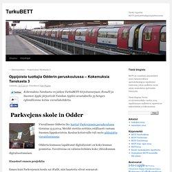 Oppijoista tuottajia Odderin peruskoulussa – Kokemuksia Tanskasta 3