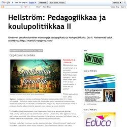 Koulutuksen kehityksestä Suomessa