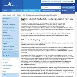 Oppimisen tutkijat: Koululaisilla suu - Suomen Akatemia