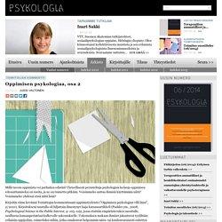 Oppimisen psykologiaa, osa 2