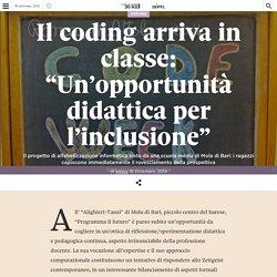 """Il coding arriva in classe: """"Un'opportunità didattica per l'inclusione"""""""
