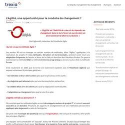 L'Agilité, une opportunité pour la conduite du changement ? - Conduite du changement Trexia - Conduite du changement Trexia
