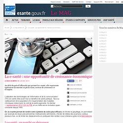 La e-santé : une opportunité de croissance économique