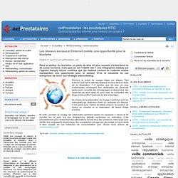 Les réseaux sociaux et l'Internet mobile, une opportunité pour le tourisme - netPrestataires.com