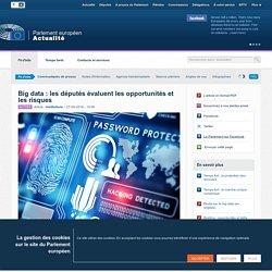 Big data : les députés évaluent les opportunités et les risques