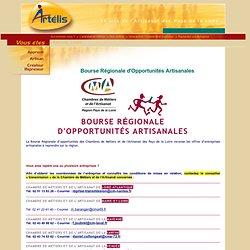 bourse régionale d'opportunités artisanales