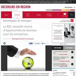 La RSE, nouvelle source d'opportunités de business pour les entreprises