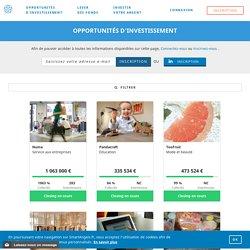 Opportunités d'investissement - SmartAngels
