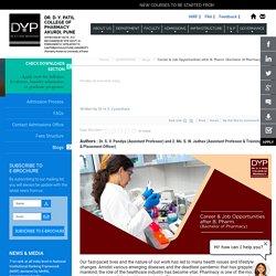 Career & Job Opportunities after B. Pharm. (Bachelor of Pharmacy)