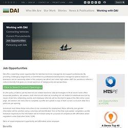 DAI - an international development company