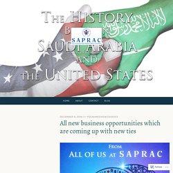 Relationship between Kingdom of Saudi Arabia and USA