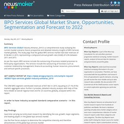 BPO Services Global Market Share, Opportunities, Segmentation and Forecast to 2022