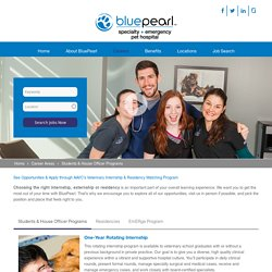 Opportunities for Veterinary Students & Graduates at BluePearl