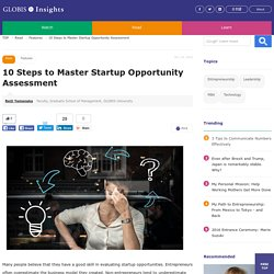 10 Steps to Master Startup Opportunity Assessment