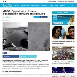 VIDÉO. Opportunity : 11 ans d'exploration sur Mars en 8 minutes