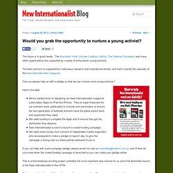 Blog - New Internationalist AustraliaBlog – New Internationalist Australia