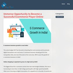 Immense Opportunity to Become a Successful Ecommerce Player Online