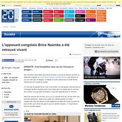 L'opposant congolais Brice Nzamba a été retrouvé vivant