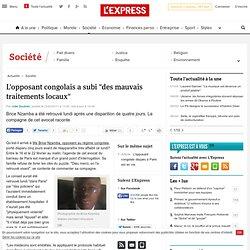 "L'opposant congolais Brice Nzamba est ""toujours en danger"""