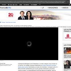 Notre-Dame-des-Landes : les opposants au projet d'aéroport mobilisés