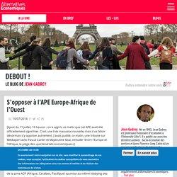 S'opposer à l'APE Europe-Afrique de l'Ouest