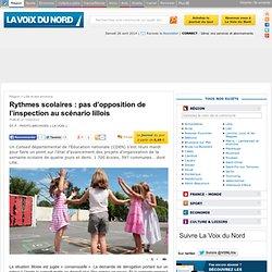 Rythmes scolaires : pas d'opposition de l'inspection au scénario lillois - Lille et ses environs