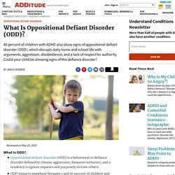 Oppositional Defiant Disorder: ODD Symptoms, Causes, Solutions & Overlap with ADHD