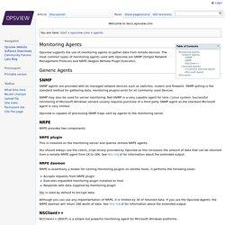 opsview-core:agents - Opsview Documentation