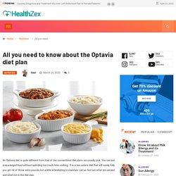 Optavia diet plan - Foods to eat and avoid in optavia diet
