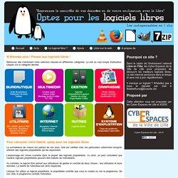 Optez pour les logiciels libres