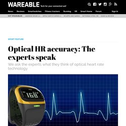 ​Optical HR accuracy: The experts speak