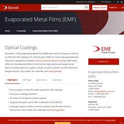 Optical Coating Solutions