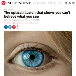 The optical illusion that shows you can't believe what you see