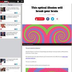This optical illusion will break your brain