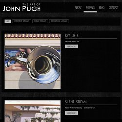 John Pugh Optical Illusion Mural Gallery