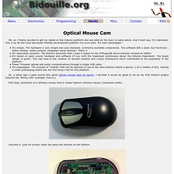 Optical mouse camera - Bidouille.org