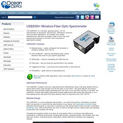 Ocean Optics - USB2000+ Fiber Optic Spectrometer