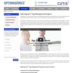 Optimagenics™ Age Management Program