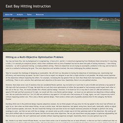 Pareto Optimal - East Bay Hitting Instruction
