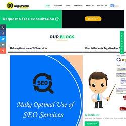 Make optimal use of SEO services