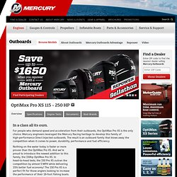 OptiMax Pro XS | Mercury Marine