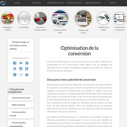 Agence Point Com - Optimisation de la conversion Perpignan