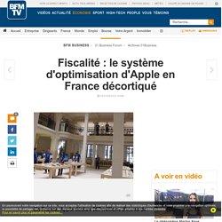 Fiscalité : le système d'optimisation d'Apple en France décortiqué