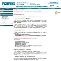 """Complément atelier """"optimisation de votre portail e-sidoc"""" - CRDP de l'académie d'Aix-Marseille - Centre régional de documentation pédagogique - SCEREN"""