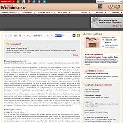 Dématérialisation : A quand le «nativement numérique»